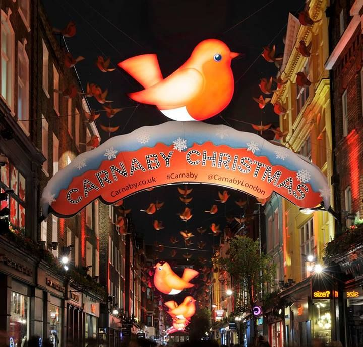 Carnaby Street, London England