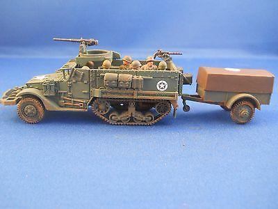 Us m3 half track and #trailer, 1/72, #plastic #soldier company and airfix ww2,  View more on the LINK: 	http://www.zeppy.io/product/gb/2/122254564026/