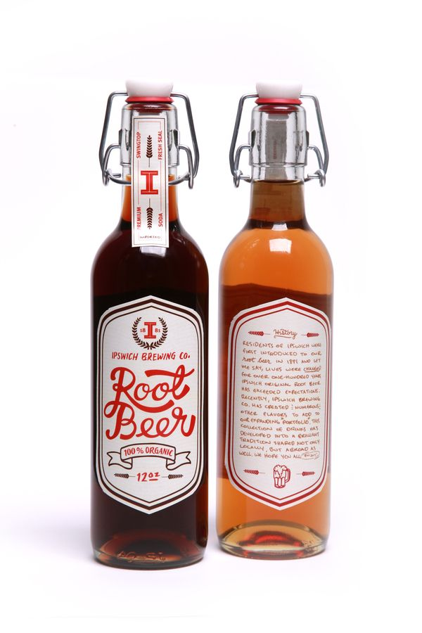 root beer packaging