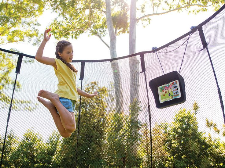 Springfree featuring tgoma has seven games to get you bouncing! There's even a fitness app for mom and dad too!