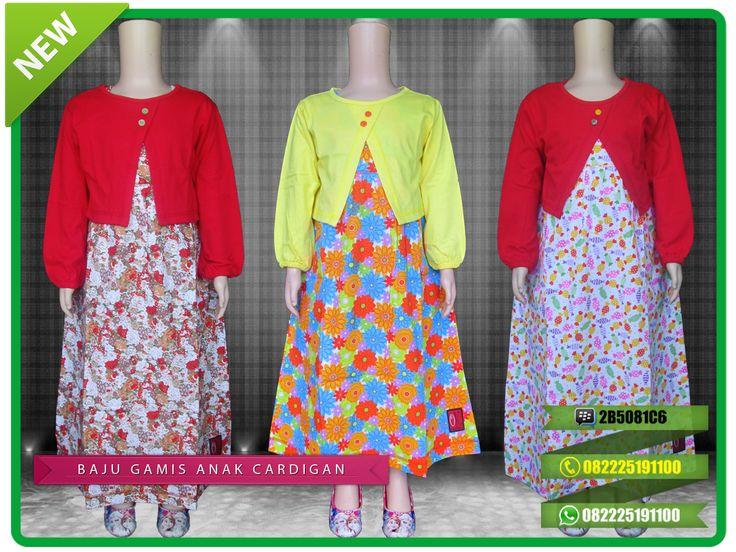Jual baju gamis anak bahan kaos model bolero dengan harga murah dan banyak pilihan motifnya. Tersedia untuk anak usia 1 tahun sampai remaja. Untuk pemesanan silahkan hubungi kontak yang tertera di gambar atau bisa kunjungi toko online kami di www.gamisokaoke.com