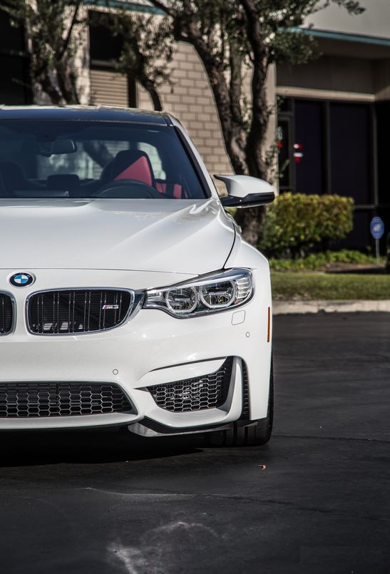 ///M Performance and Power: I really like this white painted BMW M3 F80 high performance sports car. This bad boy can go from 0 to 60 mph in 4.1 seconds. It accomplish this with a 6-speed manual gearbox. Drive it with the optional DCT gearbox; and it does it in an amazing 3.9 seconds. http://www.ruelspot.com/bmw/get-great-prices-on-used-bmw-m3-for-sale/  #BMWM3  #BMWF80M3 #BMWM3HighPerformance #BMWM3SportsCars