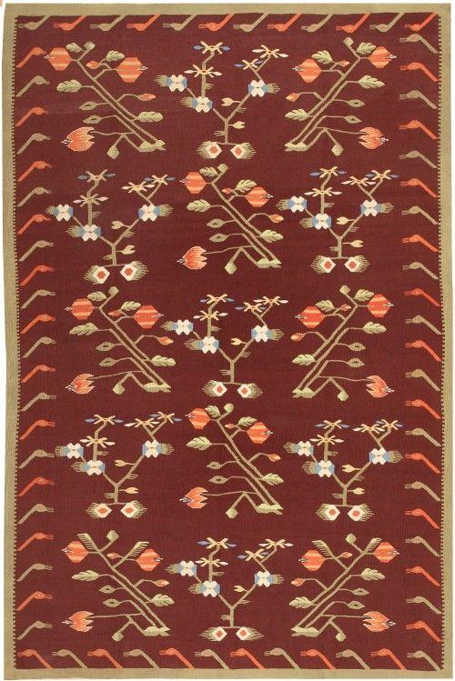 Antique Bessarabian Kilim 47037 Nazmiyal - By Nazmiyal http://nazmiyalantiquerugs.com/antique-rugs/bessarabian/antique-bessarabian-kilim-47037/