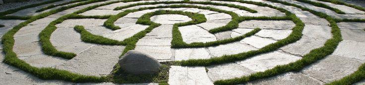 Labirinto a spirale - Giardino Labirinto Kränzelhof Cermes - Museo, ristorante, vini & arte