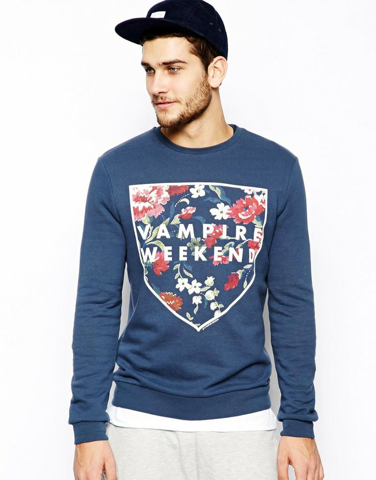 ASOS Sweatshirt With Vampire Weekend Print