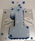 boy 1st birthday cakes - Bing Images
