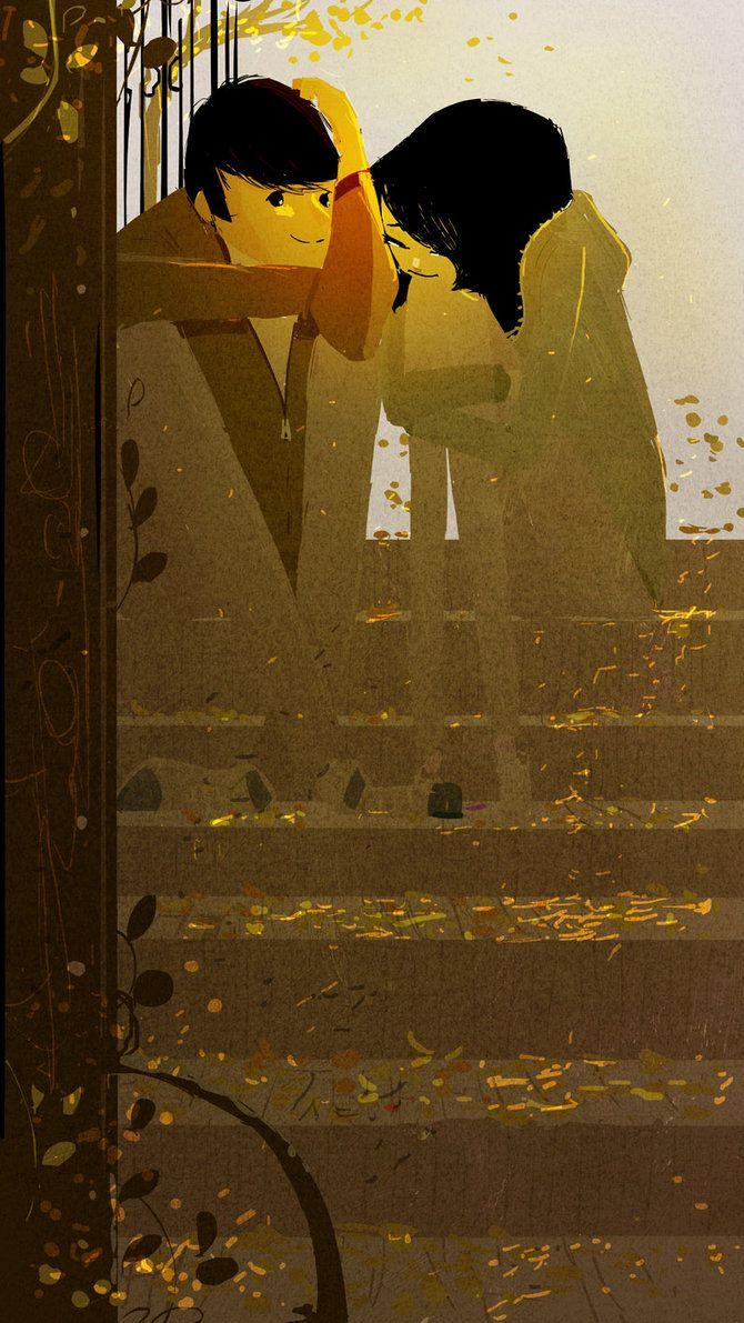 """"""".Back in Fall"""" #ilustracion de PascalCampion"""