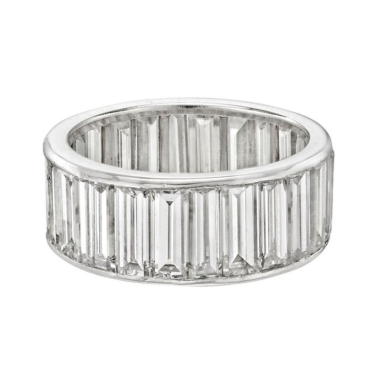 Van Cleef & Arpels Baguette-Cut Diamond Eternity Band Ring