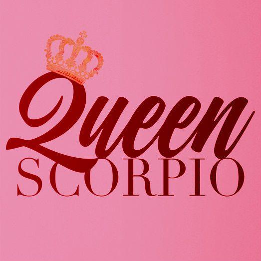 scorpio all day. ♏