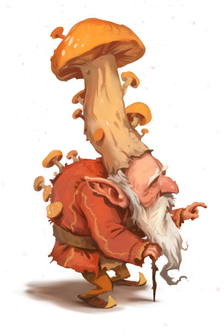 Mushroom King, Andrew Bosley on ArtStation at https://www.artstation.com/artwork/mushroom-king-911c292a-2e15-46b9-a612-22c40f807541