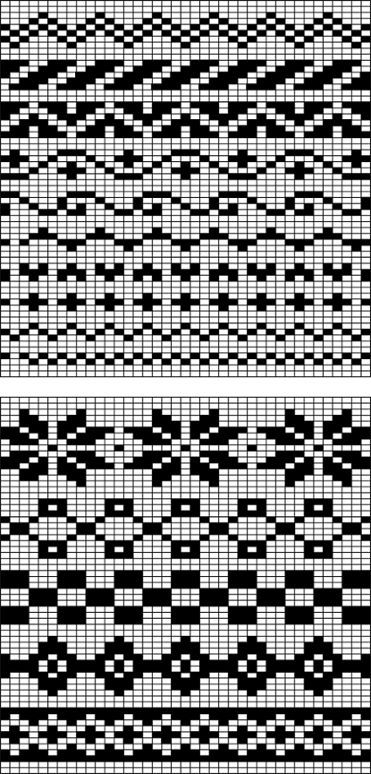 416 best Fair Isle images on Pinterest | Knitting charts, Knitting ...
