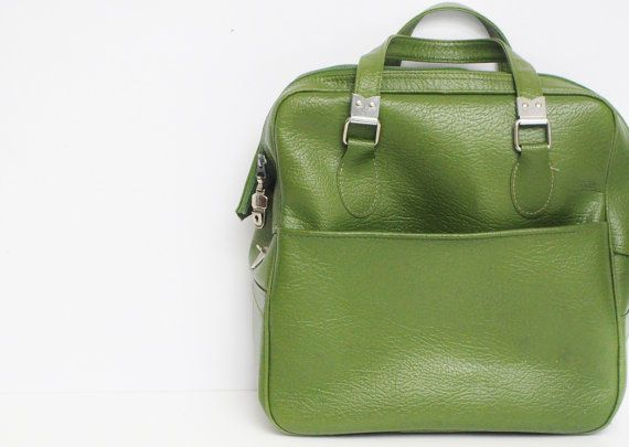 Avocado Green Shoulder Bag by thewhitepepper on Etsy, $34.50