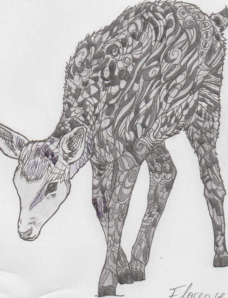 KOSTENLOS zum selber Machen: Anti-Stress Malbuch für Erwachsene: Zauberhafte Tiere der Entspannung