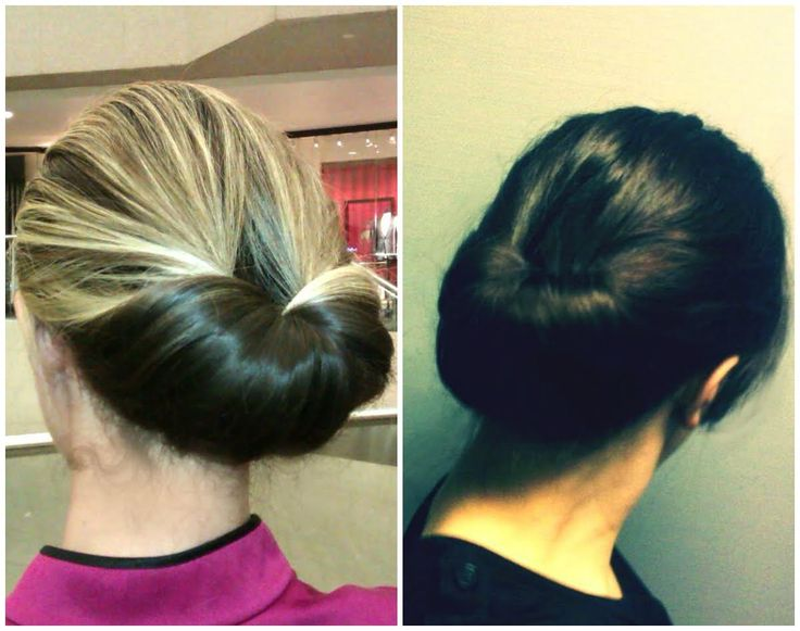 Easiest Updo Ever - the Inverted Bun/Gibson Tuck **********************************************************