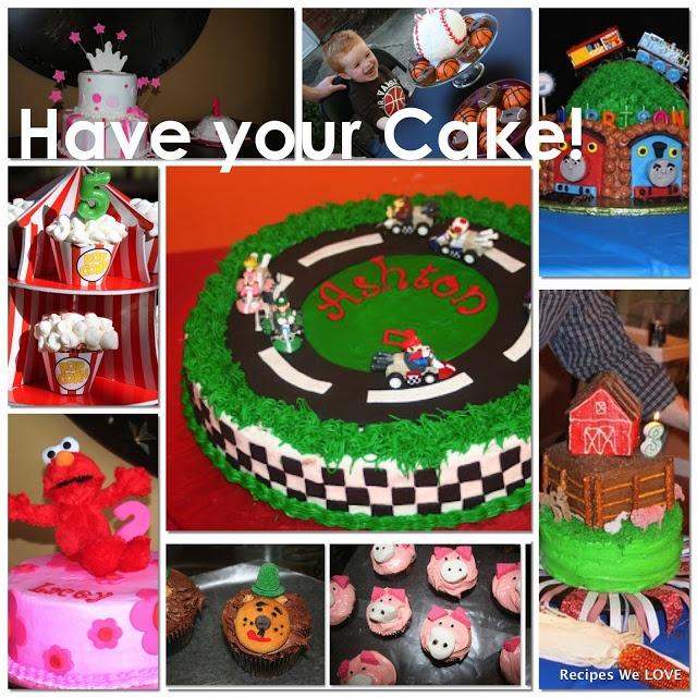 LOTS of BIRTHDAY CAKE ideas