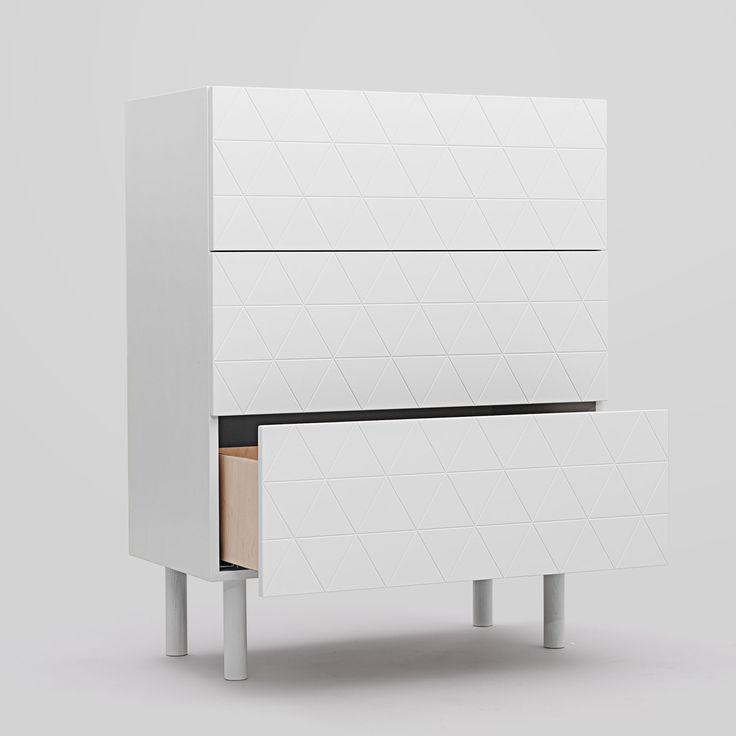 Abstract E3 byrå från Decotique. En modern och snygg byrå i skandinavisk design. Byrån är stilren oc...