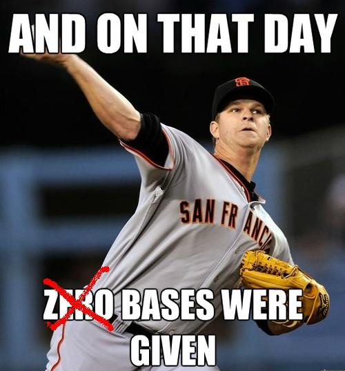 Cards lit up Cain and the Giants today..  <3  :))  4-07-13