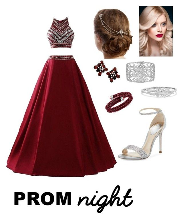 """""""Rad in Red"""" by devarahma on Polyvore featuring René Caovilla, Stephen Webster and Swarovski"""