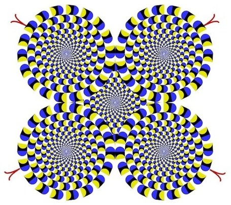 "If there's ever excuse to publish an optical illusion as cool as the ""Rotating Snakes,"" I'll take it"