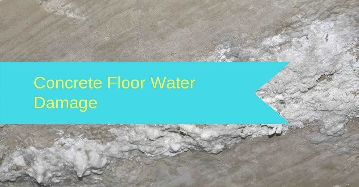 How To Dry A Concrete Floor After Water Damage 3 Fast Steps Water Damage Repair Water Damage Damage Restoration