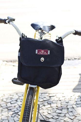 Handle bar large bag, love it! Vitoria Alforjaria