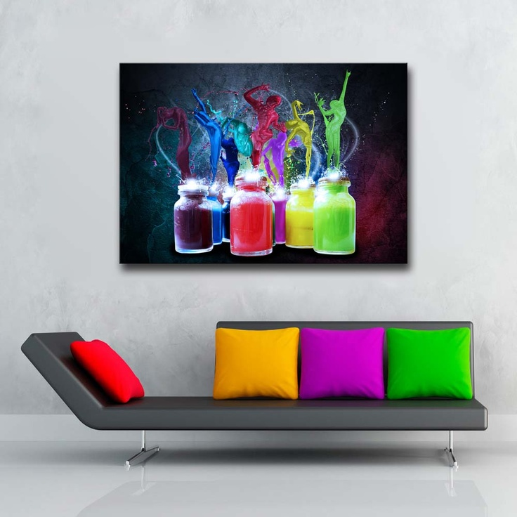 Art Modern  Canvas Tablo Color : 59,90 TL   evmanya.com