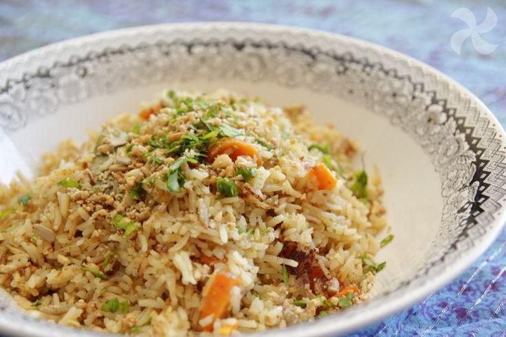 Arroz estilo hindú - https://www.thermorecetas.com/arroz-estilo-hindu/