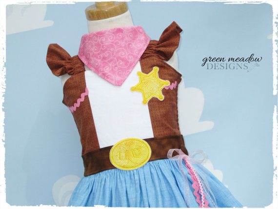 Sheriff Callie Character Dress by greenmeadowdesigns on Etsy