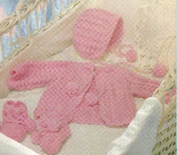 FREE Crochet Baby Shells Layette