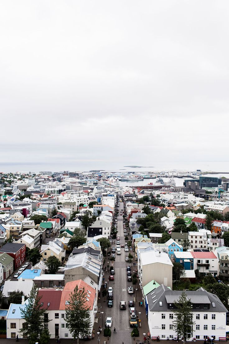 Reykjavik from above.