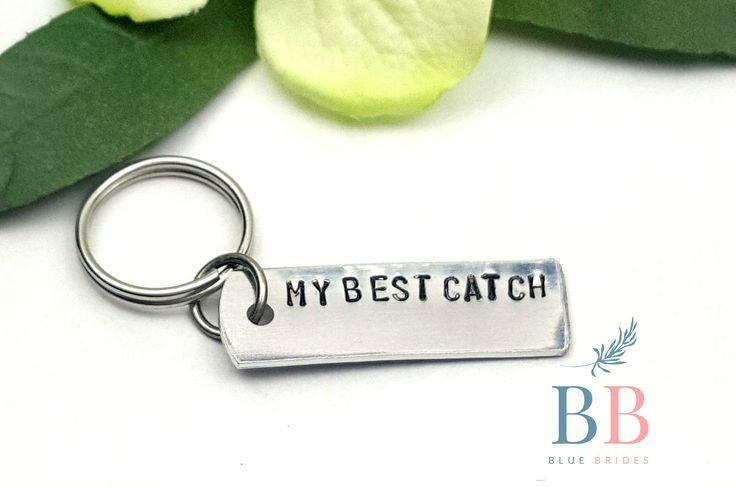 Best Catch Key Chain - Anniversary gift - For Him - Engraved Key Chain - Wedding Gift for him - For The Couple - Custom Key Chain
