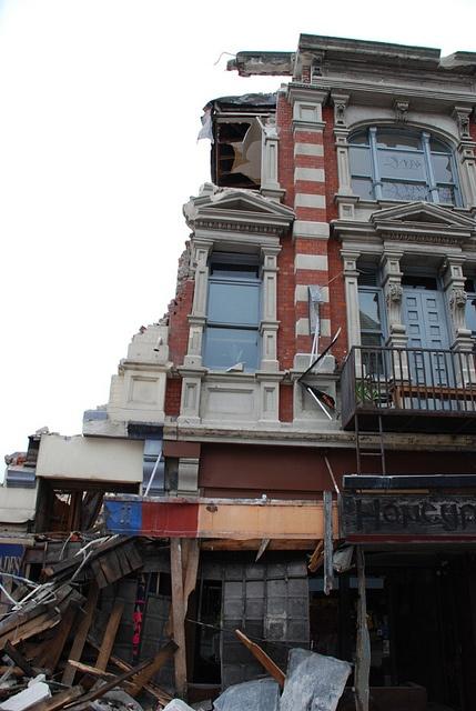 Christchurch Earthquake 22/02/11.  New Zealand.  Photo: geoftheref via Flickr