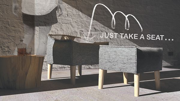 Pufas 1 * for art incubator interior project on Behance