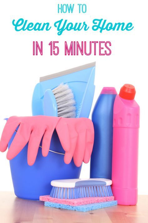 How to clean your home in 15 minutes - these 8 easy tips will make it look you spent an entire day cleaning!
