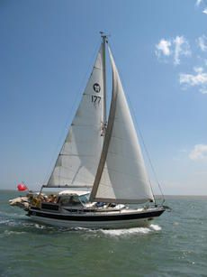 Winga 87 for sale UK, Winga boats for sale, Winga used boat sales, Winga Sailing Yachts For Sale MOTOR SAILER, BLAZER of RIDGE. Part One Ships Registered.WINGA 87. - Apollo Duck