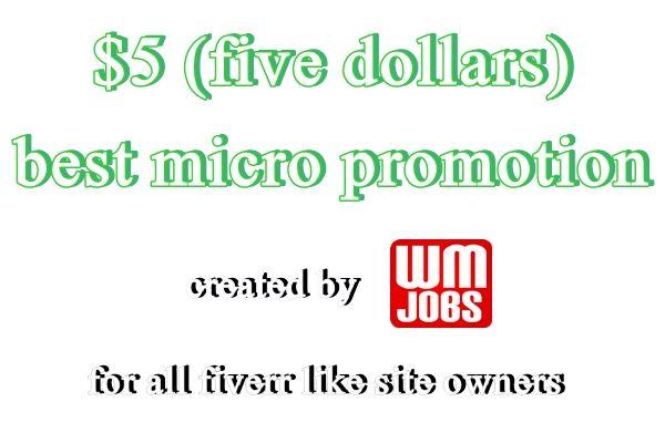World Micro Jobs – Promoting Fiverr World