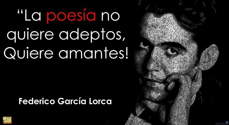 Garcia Lorca y la poesía....