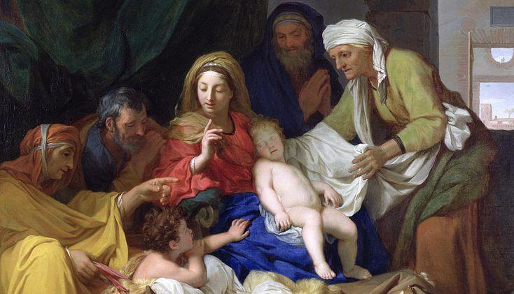 The Sleeping Christ