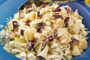 Receita de Salada coleslaw - Comida e Receitas