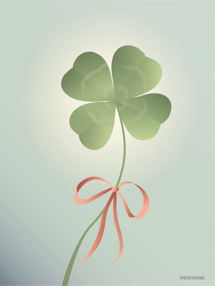 Vissevasse good luck poster