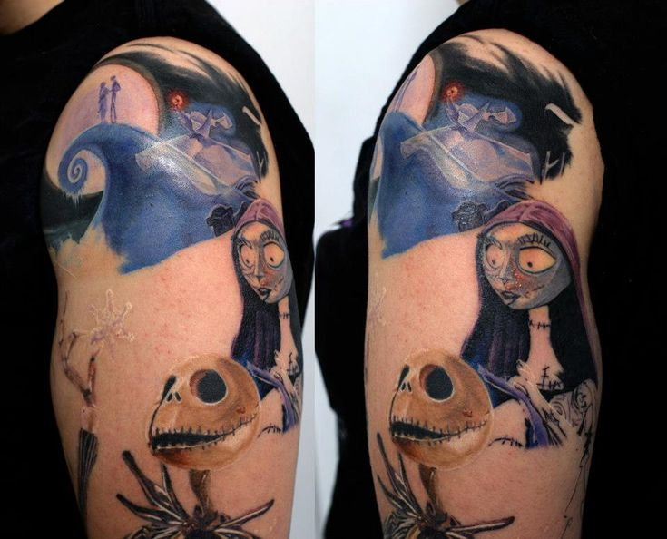 120 Best Nightmare Before Christmas Tattoos Images On