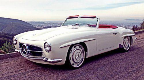vintage convertible merc