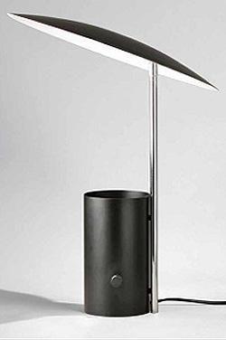 """So elegant:  George Nelson's """"Half Nelson"""" lamp, reissued by Modernica."""