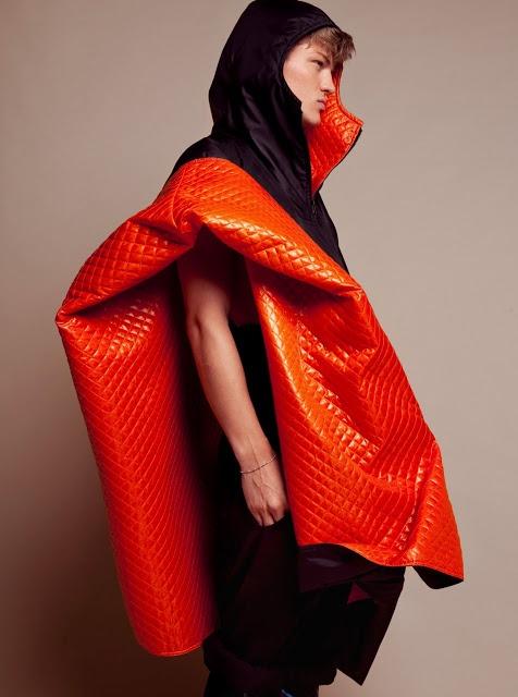 CLIENT MAGAZINE photo: Lukasz Pukowiec styling: Andrzej Sobolewski / Warsaw Creatives model: Sebastian Sauve