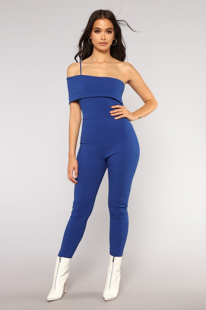 563cd525fded Stay Ready Jumpsuit - Royal in 2019