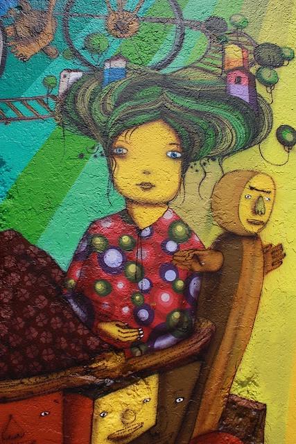 Mural - Os Gemeos - NYC 3