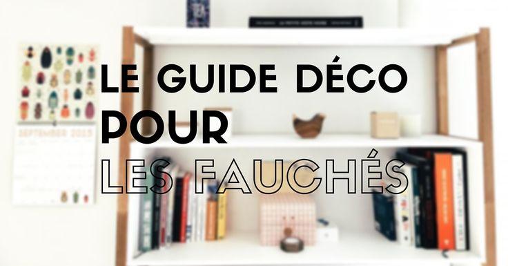 DÉCO PAS CHER : découvrez LE guide de la déco pour les gens fauchés ! Des astuces, des conseils et des idées pour la décoration avec un petit budget.