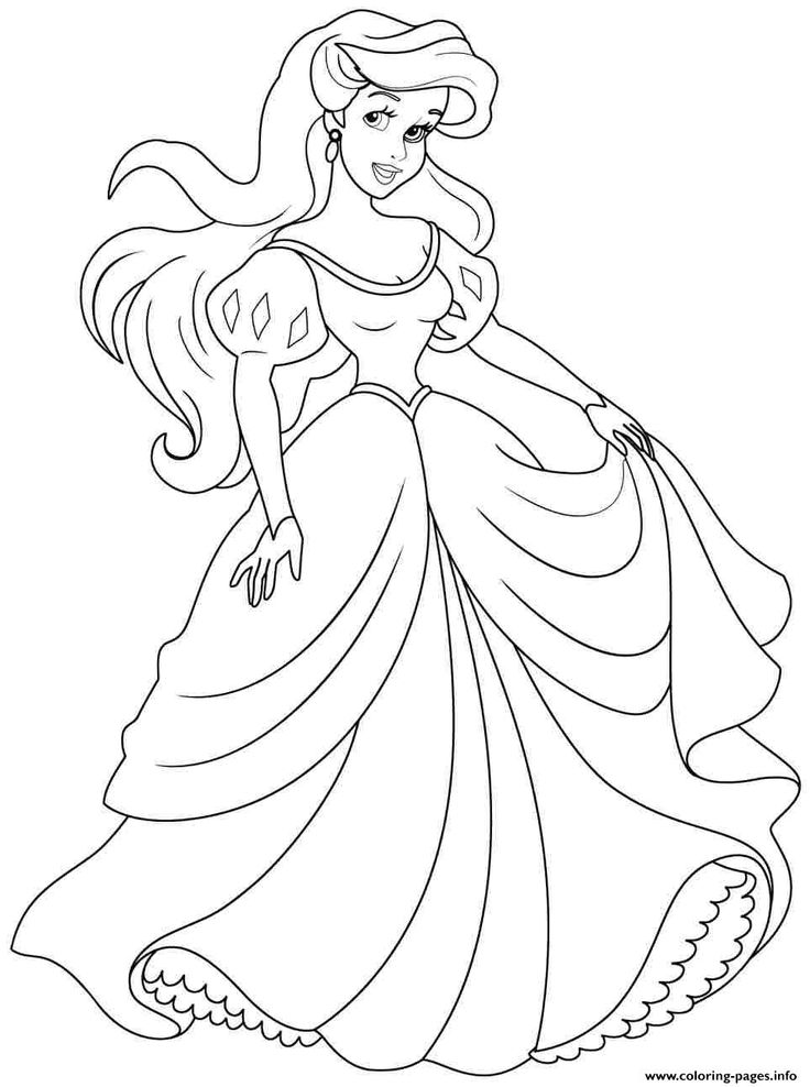 13 best frozen coloring pages images on pinterest | coloring books ... - Printable Coloring Pages Princess