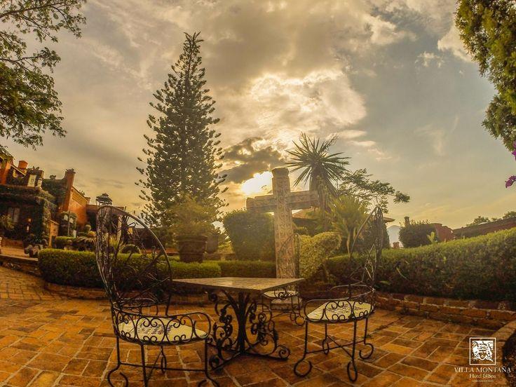 Un espacio para compartir con esa persona especial, encuéntralo en Villa Montaña. 😊  #HotelVillaMontaña