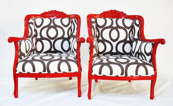 rehabbed vintage chairs
